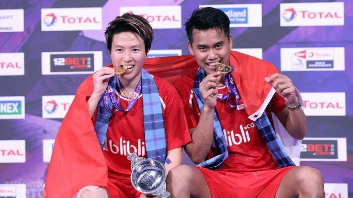 Tontowi Ahmad/Liliyana Natsir Sabet Gelar Juara Dunia Kedua